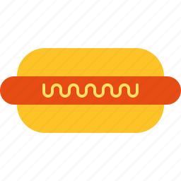 hotdog, meat, sausage icon