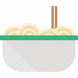 bowl, noodle icon