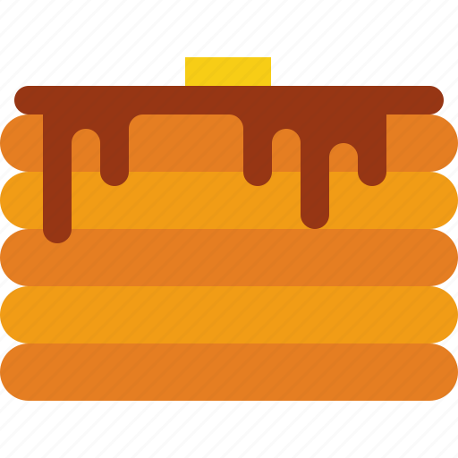 Butter, chocolate, pancake icon - Download on Iconfinder