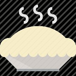 delicious, pie icon