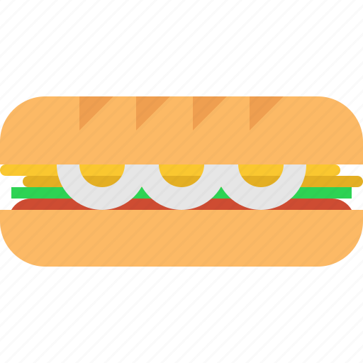 meat, sandwich icon