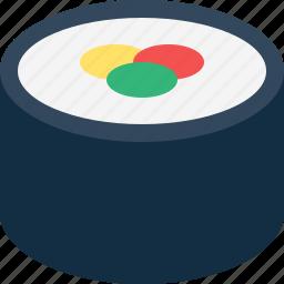 single, sushi icon