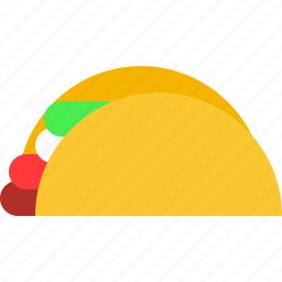 food, taco icon