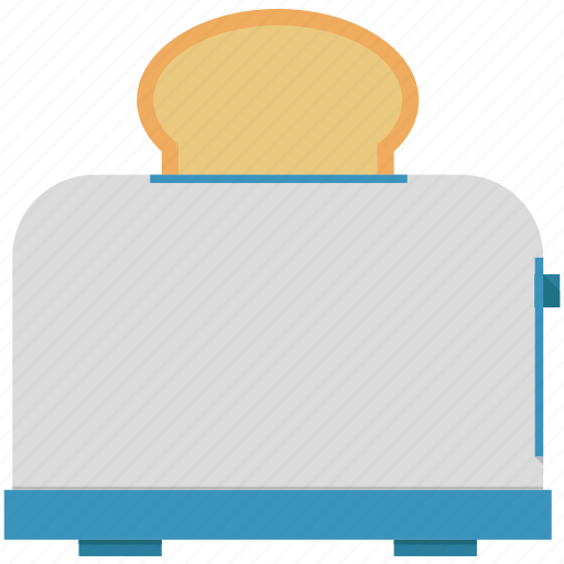bread, toaster icon