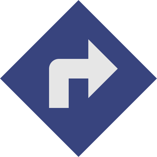 board, direction icon
