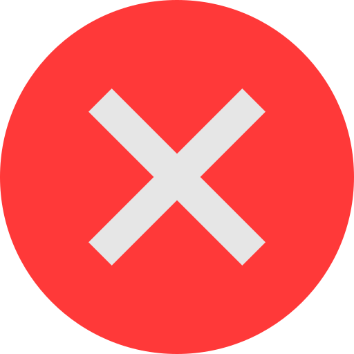 Incorrect icon - Free download on Iconfinder