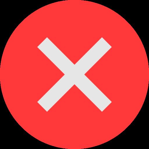 incorrect icon