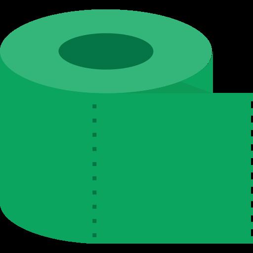 tissue, toilet icon