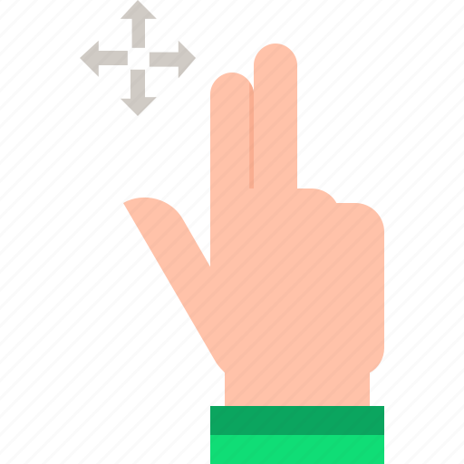 drag, gestures icon