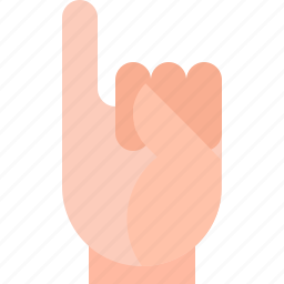 gestures, piss icon