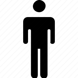 man, silhouttes icon