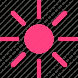 brightness, high icon