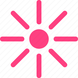 brightness, low icon