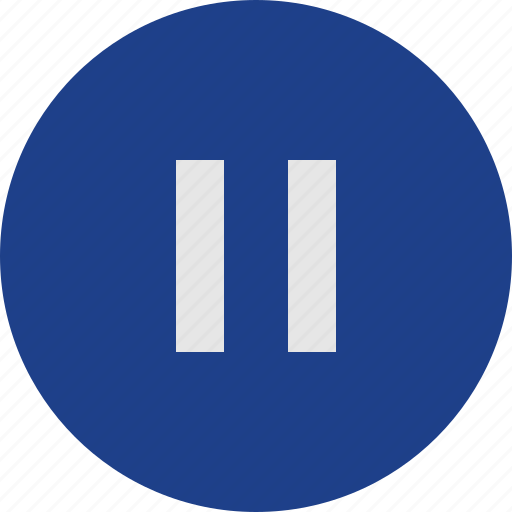 interface, pause icon