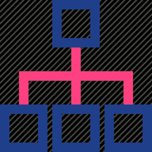 relations, subgroups, three icon