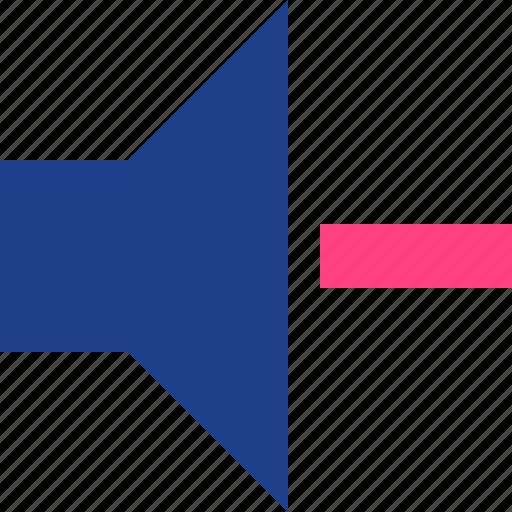 down, volume icon
