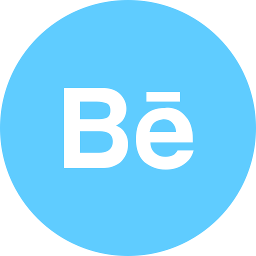 behance, logo icon