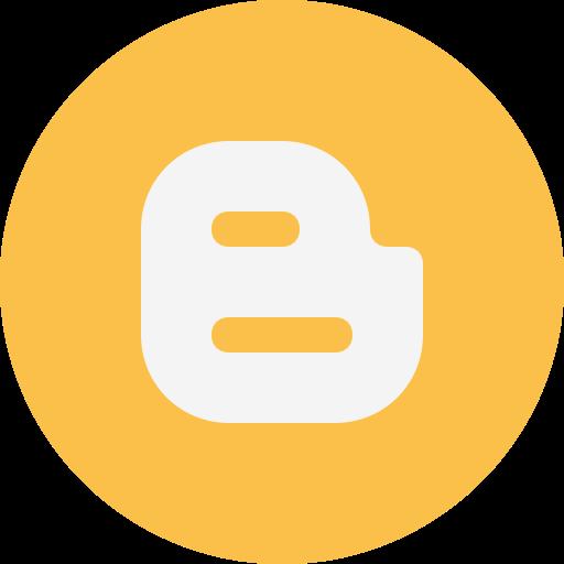 blogger, logo icon