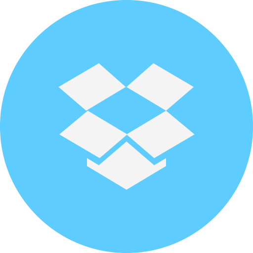 dropbox, logo icon