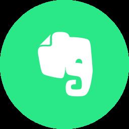 evernote, logo icon