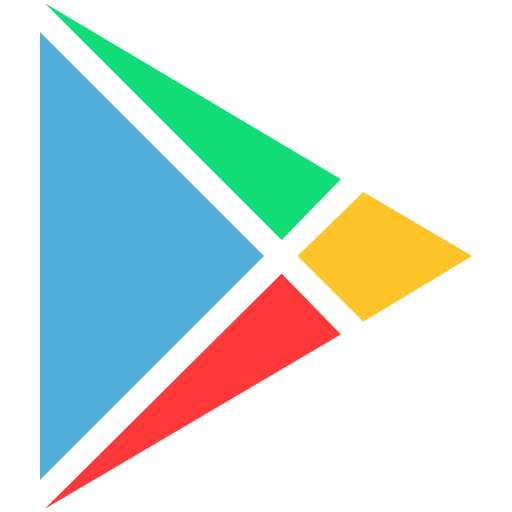 google, logo, play icon