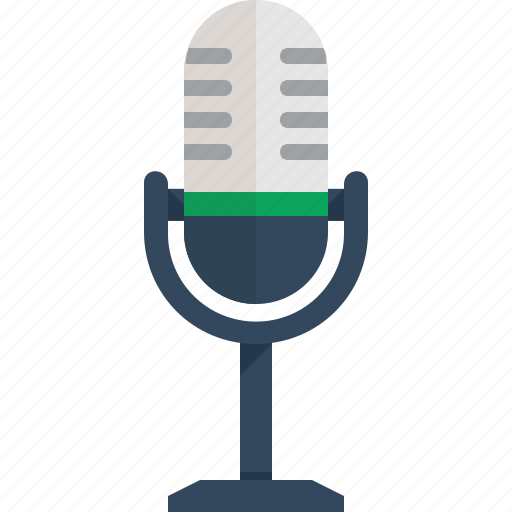 microphone, sound icon
