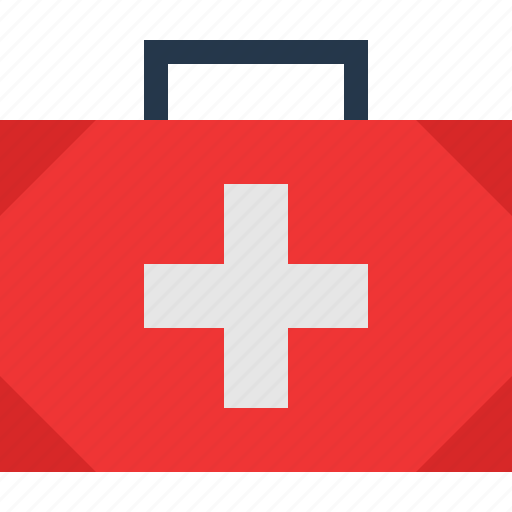 medical, suitcase icon