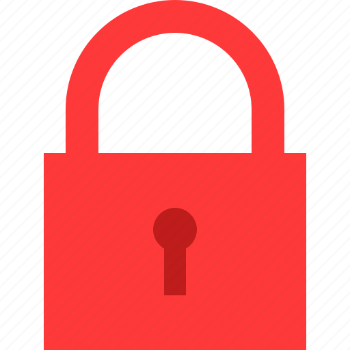 lock, padlock icon