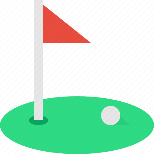 Court, field, flag, golf icon - Download on Iconfinder