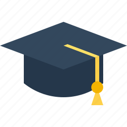 cap, graduation icon