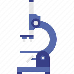 biological, microscope, scientific icon