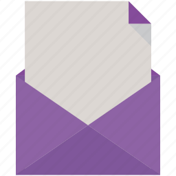 mail, open icon