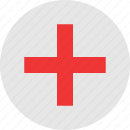 emergency, plus icon
