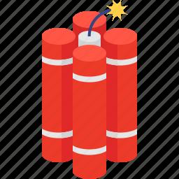 bomb, dynamite icon