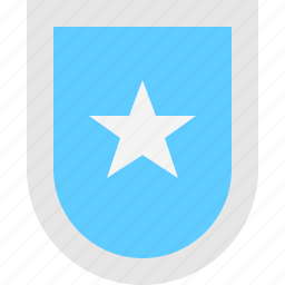 shield, star icon
