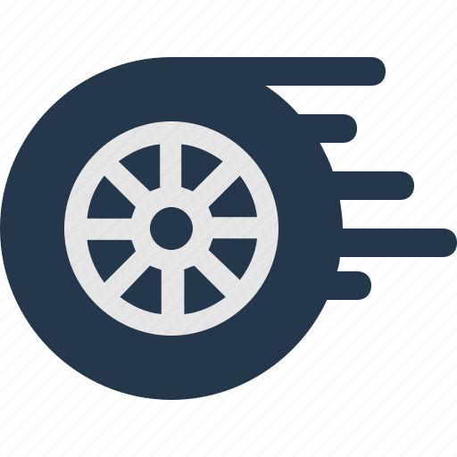 speed, wheel icon