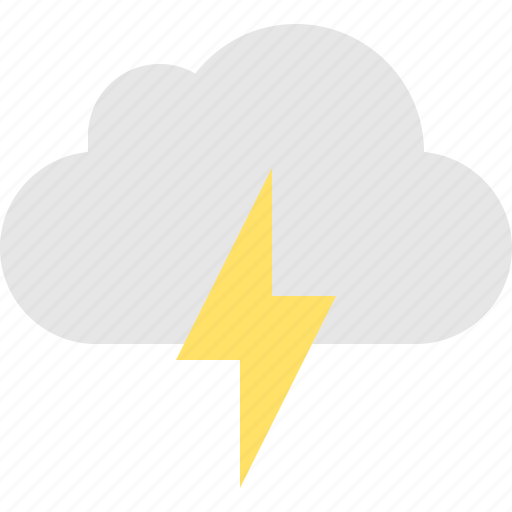 cloud, thunderstorm icon