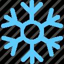 flakes, winter icon