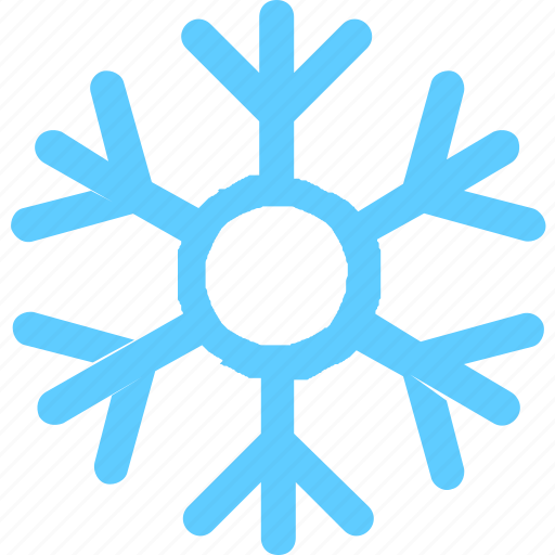 flakes, winter icon