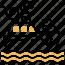 boat, logistic, ocean, shipping, transport
