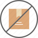 box, package, track, tracking icon