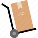 deliver, delivery, system, ups icon