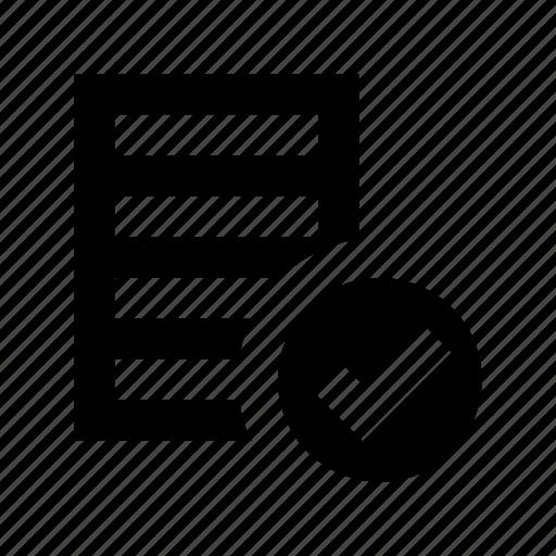 catalogue, checklist, doc, index, report icon