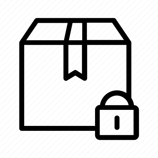 box, cargo, delivery, logistics, package, packing, shipping icon