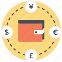 cash, currency, money, payment, wallet icon