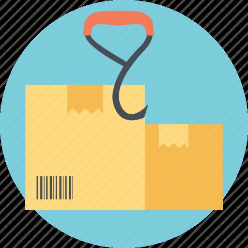 International Shipping Label Prohibited Activity Sign Symbol Use No Hook Icon