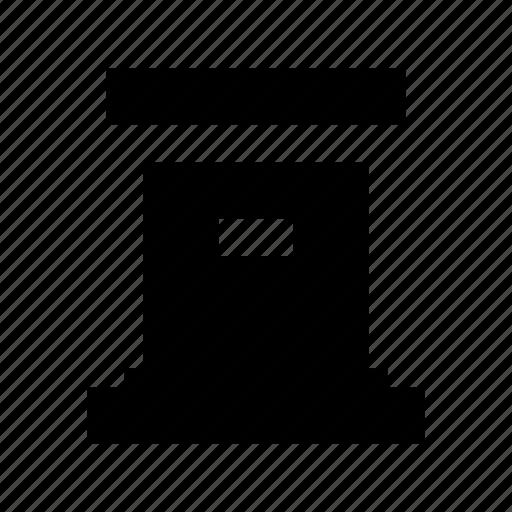 letterbox, mailbox, po box, pob, postbox icon