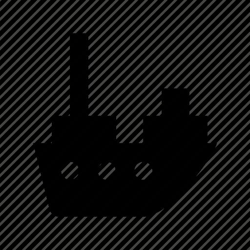 cargo ship, cargo vessel, container ship, export, shipping icon