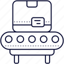 belt, box, conveyor, factory, industri, production