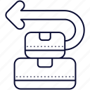 box, cancel, delivery, return icon